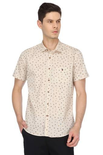 LOUIS PHILIPPE SPORTS -  Beige Shirts - Main