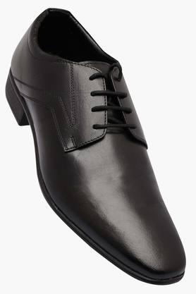 FRANCO LEONE Mens Leather Lace Up Derbys - 202658091