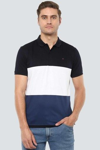 LOUIS PHILIPPE SPORTS -  NavyT-Shirts & Polos - Main