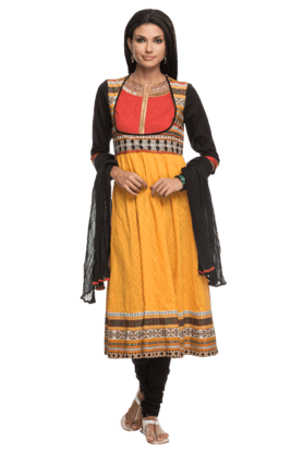 IMARA Women Embellished Churidar Suit - 200198547