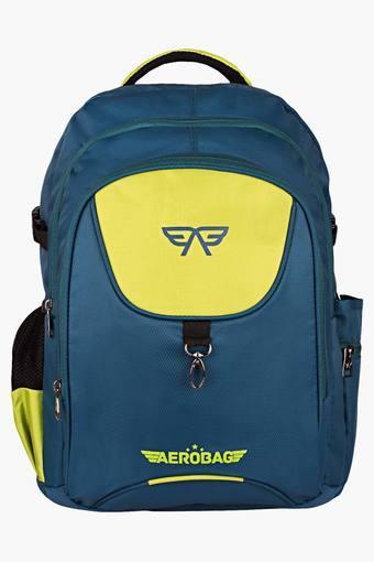 Unisex 3 Compartments Zipper Closure Backpacks