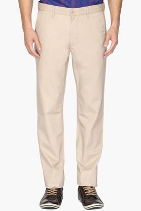 VAN HEUSEN SPORT Mens Slim Fit 5 Pocket Solid Chinos  ... - 202060258