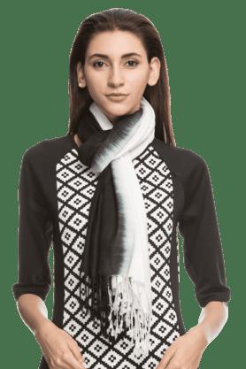 TASSELSWomen Solid Rayon Shawls