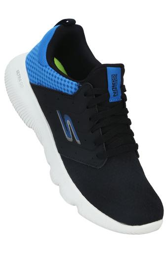 SKECHERS -  Navy Blue Sports Shoes - Main