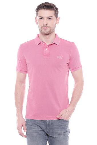 SUPERDRY -  Pink T-shirts - Main
