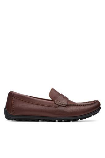 CLARKS -  Dark TanCasual Shoes - Main