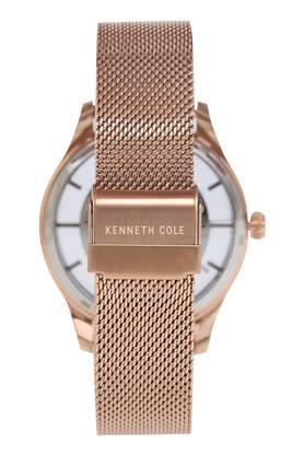 Mens Black Dial Metallic Analogue Watch - KC50919002MN