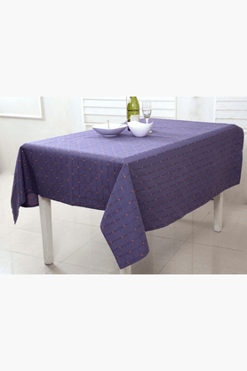 MASPAR Mimmi Square Purple 4 Seater Table Cover