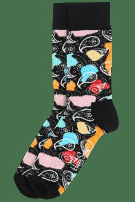HAPPY SOCKSMens Cotton Printed Socks - 201005074