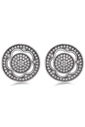 REAL EFFECT Embellished Stud Earrings - 200480428_9999