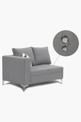 Silver Water Repellent Fabric Sofa (Lounger)