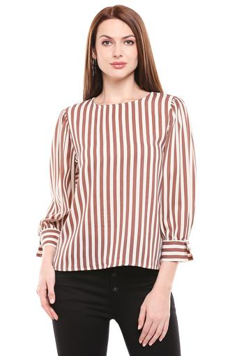 C336 -  Brown MixT-Shirts - Main