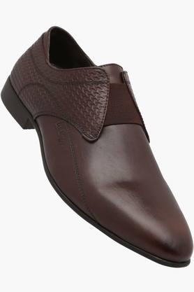 Mens Leather Slip Ons