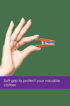 BONITABloom Soft Grip Clothes Clip (Set Of 8)
