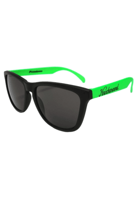 KNOCKAROUND Classic Premium Throwback Unisex Sunglasses Green/Black-PRTH1002 (Use Code FB20 To Get 20% Off On Purchase Of Rs.1800)