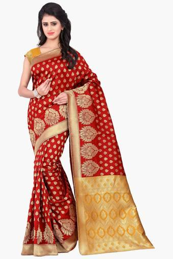 Women Banarasi Silk Weaved Saree