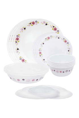 CORELLE Dinner Set (Set Of 16) - Floral Fantasy