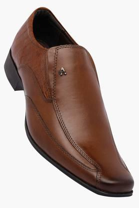 VENTURINI Mens Leather Slipon Loafers - 202109242