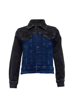 Boys Washed Casual Jacket