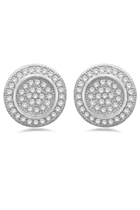 REAL EFFECT Embellished Stud Earrings