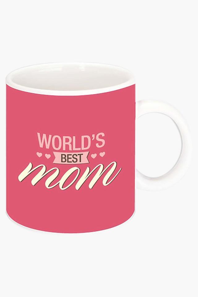 Worlds Best Mom Printed Ceramic Coffee Mug