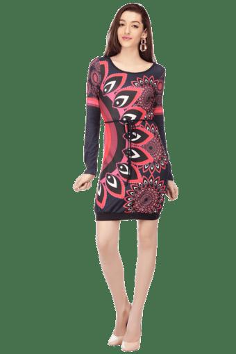 Women Cotton Knee Length Dress