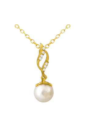 SPARKLESHis & Her Collection 18 Kt Pendant In Gold & Real Diamond HHPXP8917