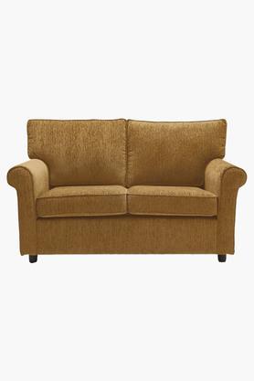 Scarlet Rust Fabric Sofa (2 - Seater)