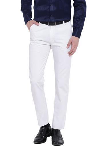 HANCOCK -  WhiteCargos & Trousers - Main