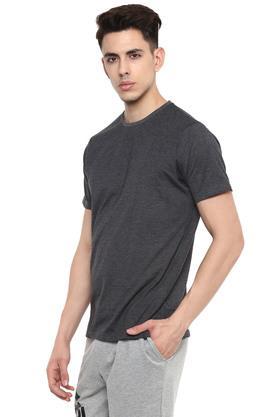 STOP - Blue MelangeT-Shirts & Polos - 14