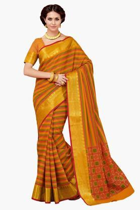 ASHIKA Womens Designer Cotton Printed Saree - 202338209