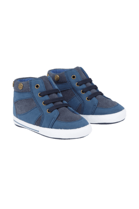 MOTHERCARE Boys Navy Studded Baseball Boots