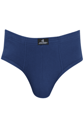 JOCKEY Mens Stretch Solid Briefs Pack Of 2