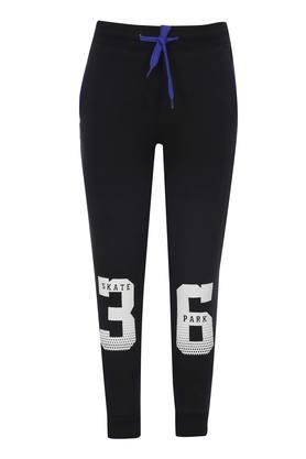 Boys 2 Pocket Printed Track Pants