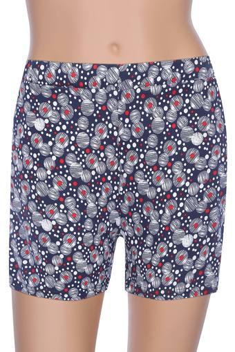 Womens 2 Pocket Printed Shorts