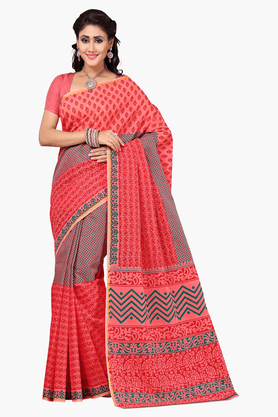 DEMARCA Womens Embroidered Saree - 201151771
