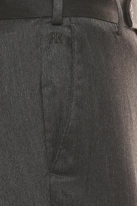 RAYMOND - Dark GreyFormal Trousers - 4
