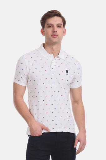 U.S. POLO ASSN. -  WhiteT-Shirts & Polos - Main