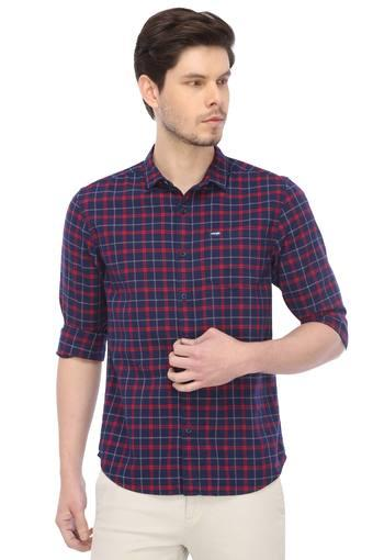 WRANGLER -  Blue Mix Dark Shirts - Main