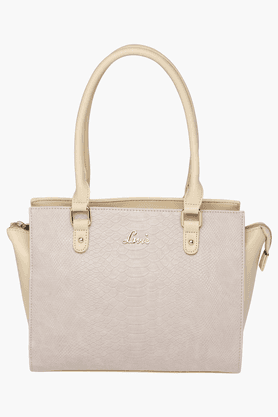 LAVIE Womens Leather Zipper Closure Tote Handbag - 201196123