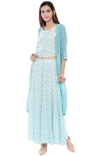 AURELIA -  Ice BlueSalwar & Churidar Suits - Main
