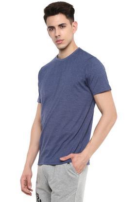STOP - Blue MelangeT-Shirts & Polos - 2