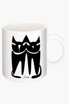 CRUDE AREA I Amour Love Printed Ceramic Coffee Mug  ...