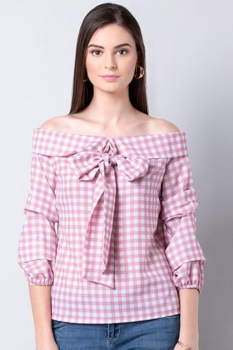 INDYA -  Pink Tops & Tees - Main