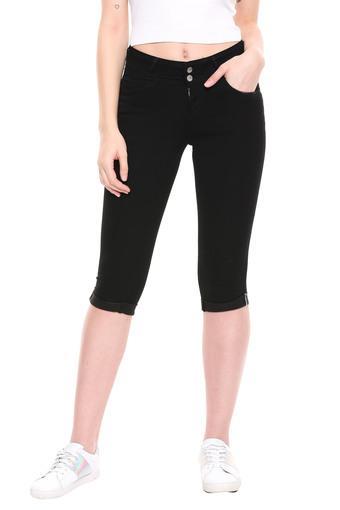 KRAUS -  BlackCapris & Shorts - Main