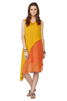 GLOBAL DESI Womens Printed Kurta - 201116263
