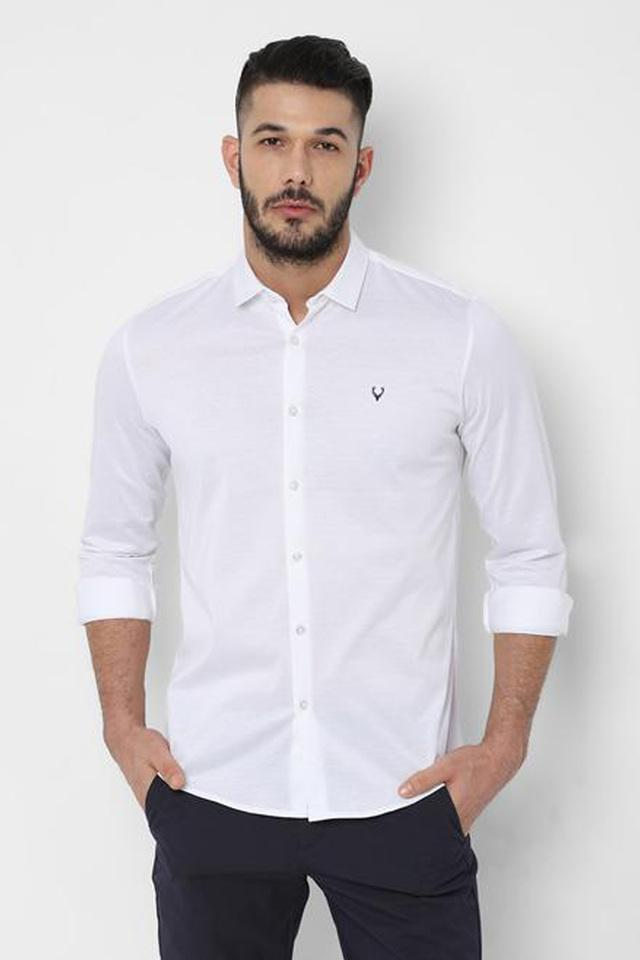 ALLEN SOLLY - WhiteCasual Shirts - Main