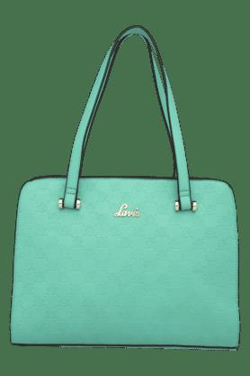 Womens Parthena Leather Medium Tote Handbag