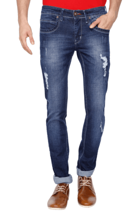 LIFE Mens Distressed Jeans