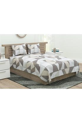 Four Seasons Printed Double Bedsheet with 2 Pillow Covers